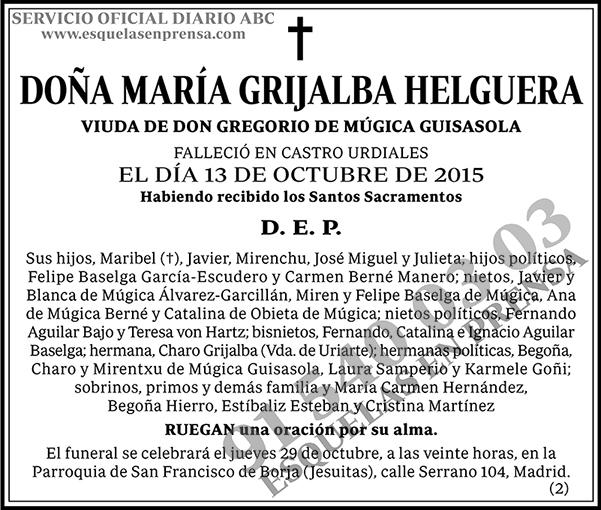 María Grijalba Helguera